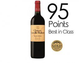 French Leoville poyferre petite winery buy online Red wine award merlot