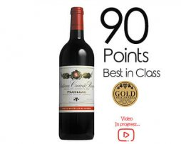 French Croizet bages petite winery buy online Red wine award merlot
