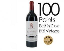 Chateau Latour 1931 Petite Winery
